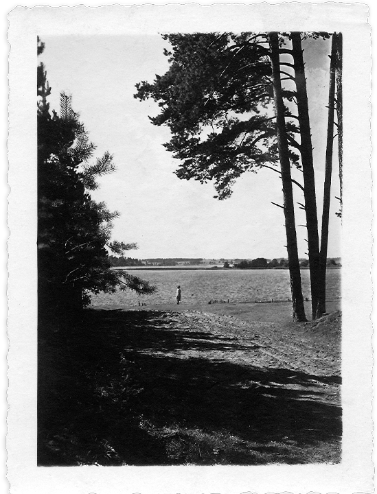 Image excerpt from poetry collection Lost and Found with images from the past of the 20th century
