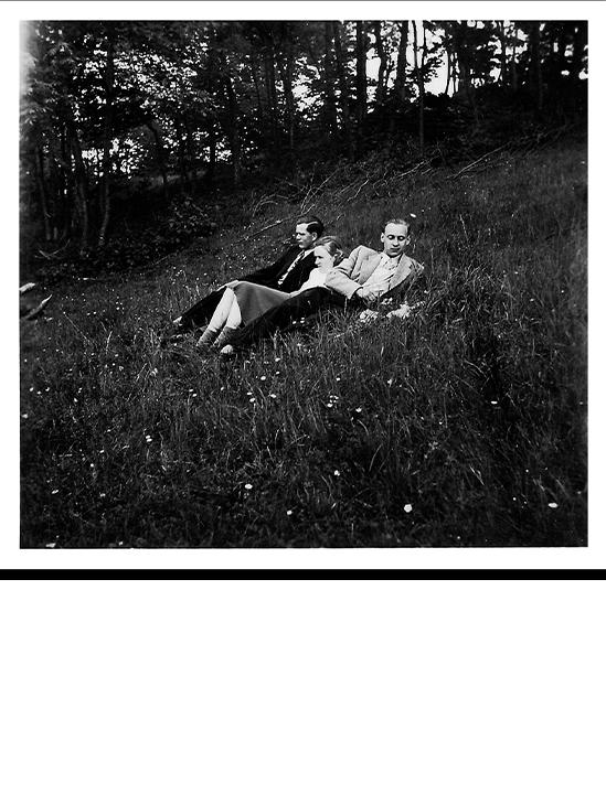 Image excerpt poetry book Lost and Found Vergangene Bilder neu erzählt