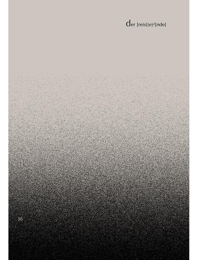 Inhaltsseite Gedichtband odysseefragmente II / III Marvin LT Müller